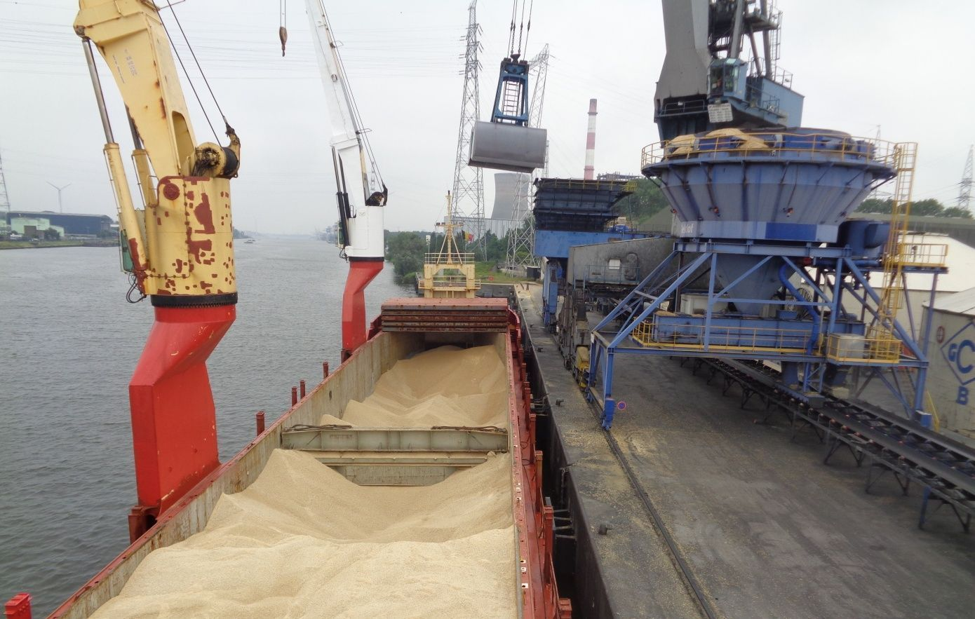 Barents has delivered cargo to the port of Ghent
