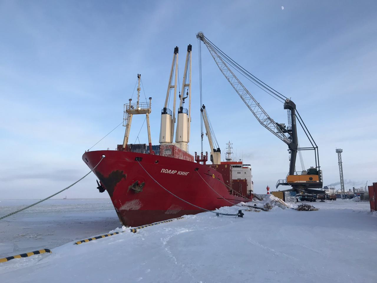 Polar King heading to Arkhangelsk