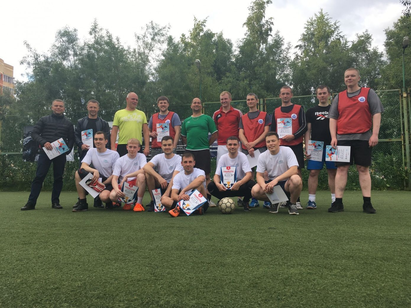 Eco Shipping team took part in a football tournament