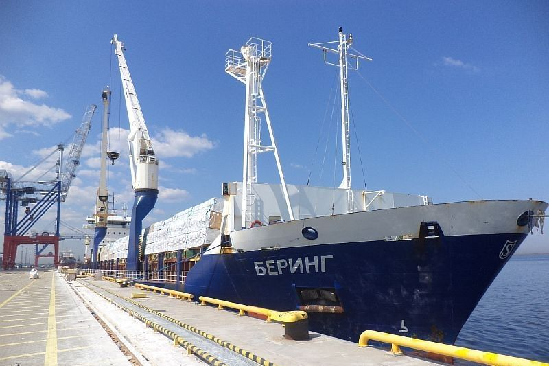 M/v Bering: Saint-Petersburg - the Mediterranean sea