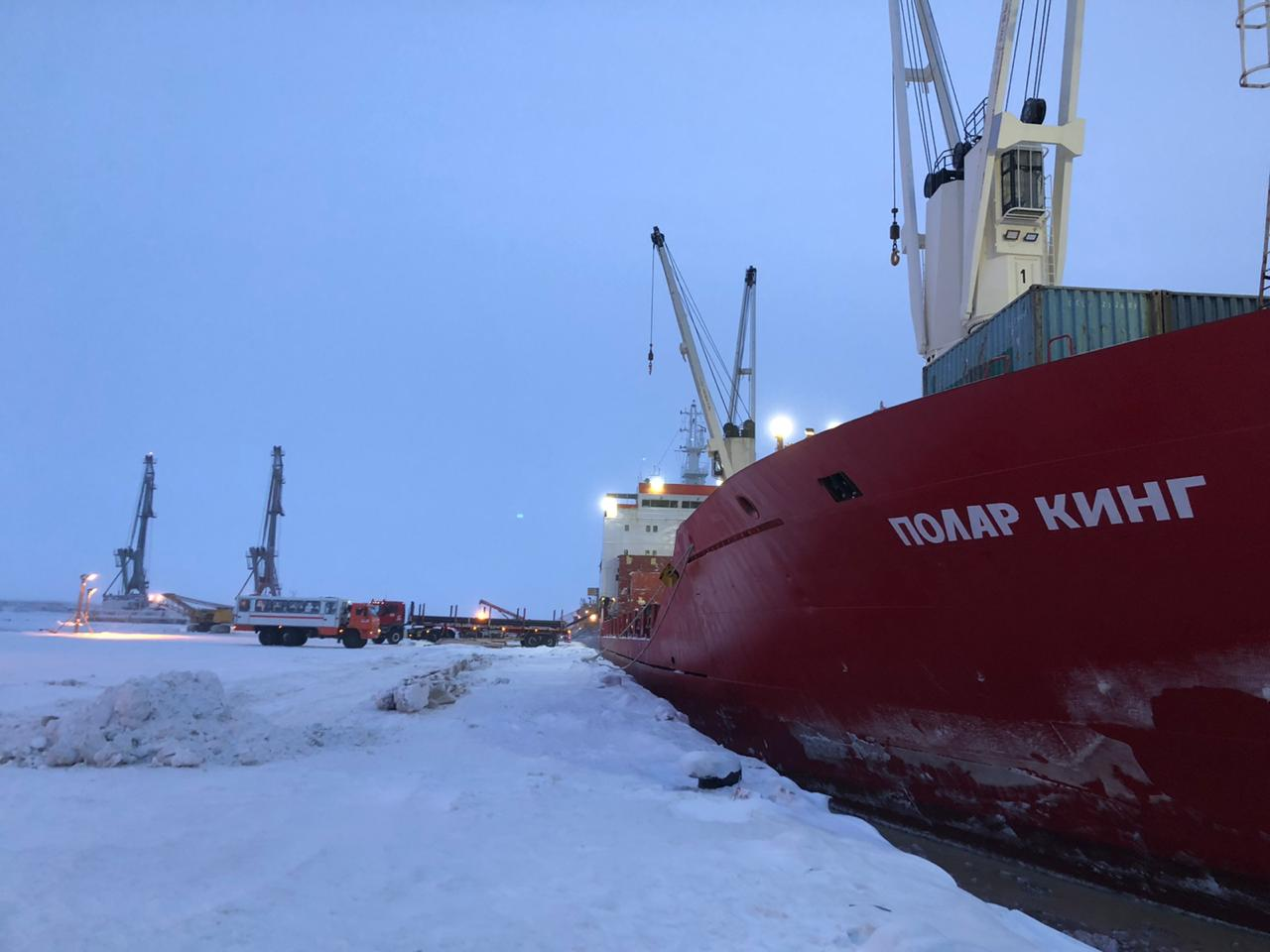 Andrey Osipov and Polar King: Arkhangelsk-Sabetta/Sabetta 2 (Salmanovskoye (Utrenneye) oil and gas condensate field)