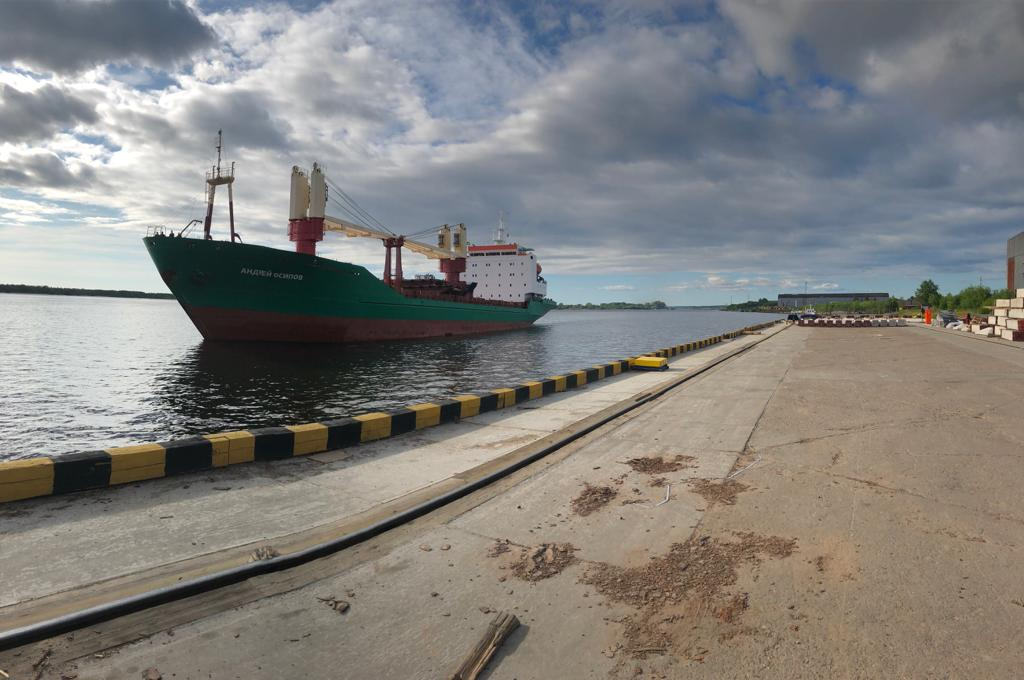 Andrey Osipov delivered cargo to Arkhangelsk
